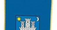 Stolna zastava grada Zagreba, 10x20 bez stalka